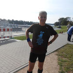 Trainingslauf - kurz vor dem Weserstadion