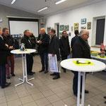 Anschließend lud der Förderverein zum Imbiss ins Vereinsheim des FC Unkel 80.