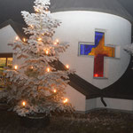 Dorfkapelle im Winter