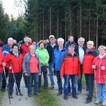 Die Organisatoren und an der Wegführung Hauptbeteiligten