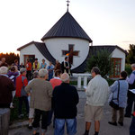 Andacht bei der Dorfkapelle anlässlich des 10-jährigen Jubiläums im Jahr 2013