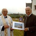 Dank an Pfarrer Pater Raphael Schörghuber