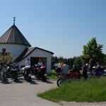 Intern. Motorradwallfahrt zu Gast