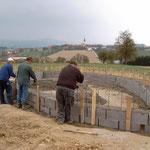 Im April 2003 wurde mit dem Bau begonnen