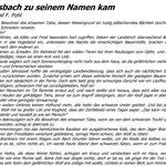 Märchen - Wie Wolfsbach zu seinem Namen kam I (Emil F. Pohl)
