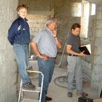 Johann Haneder fungiert als Bauleiter.