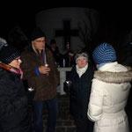 Ankommen bei der Dorfkapelle
