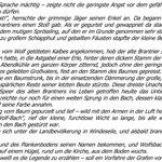 Märchen - Wie Wolfsbach zu seinem Namen kam II (Emil F. Pohl)