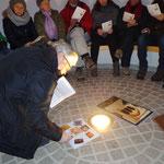 Meditativ in der Dorfkapelle