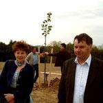 Baumspende (Winterlinde) durch Anna Elisabeth und Josef Dirnberger