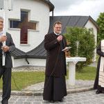 Pfarrvisitation mit Besuch der Dorfkapelle durch Weihbischof Dr. Anton Leichtfried