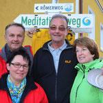 Die Wegepaten - Elisabeth und Josef Rittmannsperger sowie Cäcilia und Leo Rosenberger