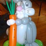 Ostern, Bunny, Osterhase, Möhren, Ballonkunst, Mr. balloni