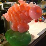 Schwein, Ballonschwein , Glücksschweinchen, Bauernhof, Mr. Balloni, Ballonkunst
