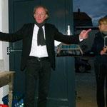 Herr Christoph Rabe informiert die Gäste