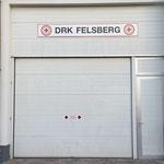 Fahrzeugtor des DRK Felsberg
