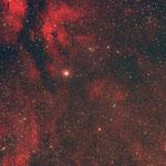 Ha-Nebel um Cygnus in Sternbild Schwan, Canon 300DA, Zeiss Sonnar 135/4