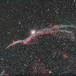 NGC6960, Newton 150/750,Canon 1000DA,Idas LPS-P2-Filter,Avalon Linear-Montierung,Mgen