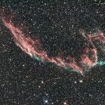 NGC 6992 mit Newton 150/750, Canon 1000DA,Idas LPS P2-Filter, Avalon Linear Montierung, Mgen.