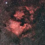 NGC 7000 , Zeiss 135/3.5, Canon 1000DA mit CLS Filter, Avalon Montierung,Mgen.