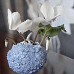 Hortensien- Vase