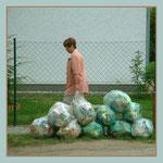 Das Leben ist ... voller Abfall