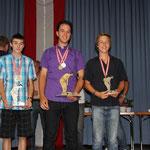 Junioren KO-Bewerb: 2. Spies Fabian, BLUD - 1. Jagschitz Mathias, KLAUS - 3. Danner Markus, 3DMSC