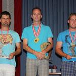 Herren KO-Bewerb: 2. Konrad Robert, STEYR - 1. Inmann Günter, OLTEN - 3. Riener Patrick. KNITT