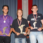 Junioren Zählwettspiel: 2. Jagschitz Mathias, KLAUS - 1. Danner Markus, 3DMSC - 3. Fazekas Adam, WAT21