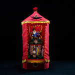 perfumat odeaurama, an automaton, the march hare presenting little scent bottles, see video, H65cm x Dia 35cm