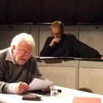 """Jochen Striebeck und Hans Kremer lesen aus Büchners """"Danons Tod"""""""