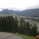 Wanderweg vom Bergstüble nach Riezlern