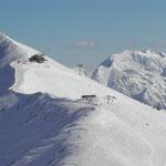 Fellhorn Gipfelstation mit Möserlift