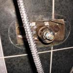 z.B. undichte Duscharmatur