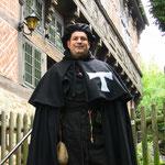 Bruder Ruwen Antonius zu Gast auf Schaumburg / an der Weser
