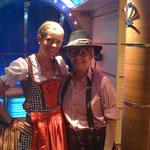 mein 1. Brauhausstadl Heidi und Peter