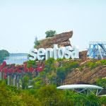 Sentosa die Nachbarinsel von Singapur