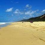 am Highway von Fraser Island