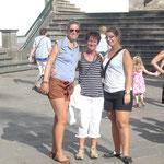 hoher Besuch: Mama und Schwester