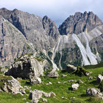 Ein Blick auf das traumhafte Panorama - Kirchdachspitze und Ilmspitze.
