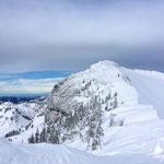 die letzten Höhenmeter zum Kasberg-Gipfel