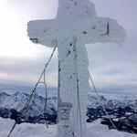 am Gipfel des Kasbergs auf 1747 m