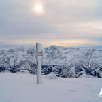 am Gipfel des Roßschopfs auf 1647 m