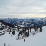 Rückblick Richtung Sengsengebirge