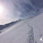 Abstieg/ Abfahrt Richtung Steyrerhütte