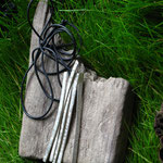 Silberanhänger Textildruck Flow CHF 250.-