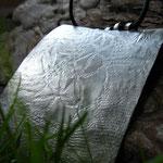 Silberanhänger Textildruck  CHF 250.-