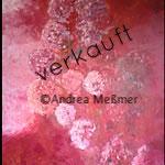 Hortensen, Acrylbild Andrea Meßmer, verkauft