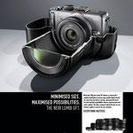 """Ideas for life"" Panasonic Lumix GF1 Kampagne – Motiv ""Mehr drin"""
