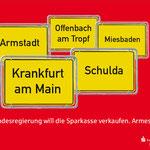"""Sparkassen Finanzgruppe Hessen-Thüringen Imagemotiv """"Armes Land"""""""